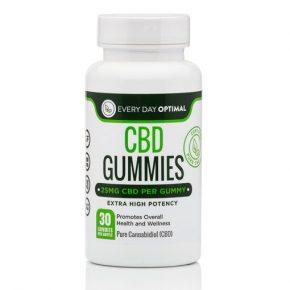 Organic Gummies   30x25mg   Every Day Optimal