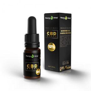 Premium Black | 12% | 10ml | PharmaHemp