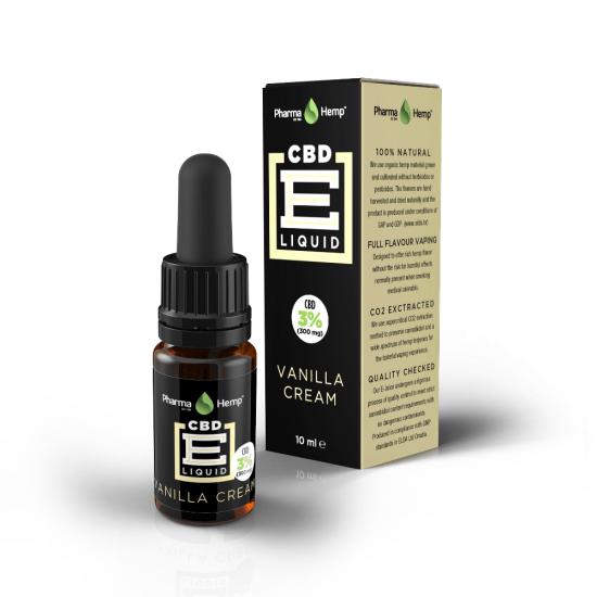 Multi-Flavours, PharmaHemp, vanilla cream, CBD Hemp, CBD Oil, CBD Eliquid
