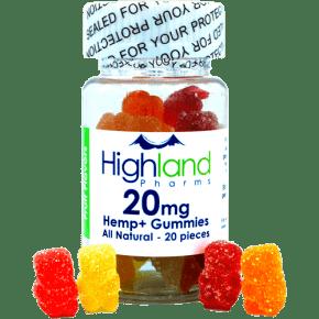 Natural Gummies   20x20mg   Highland Pharms