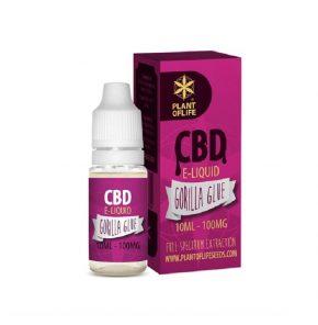 Multi-Strains, 1%, 10ml, PlantOfLife, CBD Hemp, CBD Oil, CBD E-liquid, Gorilla Glue