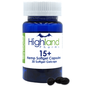 Hemp Gelcaps | 30x15mg | Highland Pharms