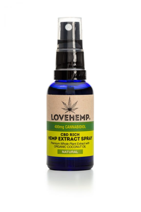 Multi-Flavours Bio Spray | 30ml | LoveHemp