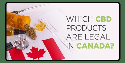 ¿El CBD es legal en Canadá?