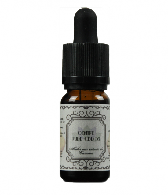Purified CBD & Turmeric | 5% | 10ml | Olympe