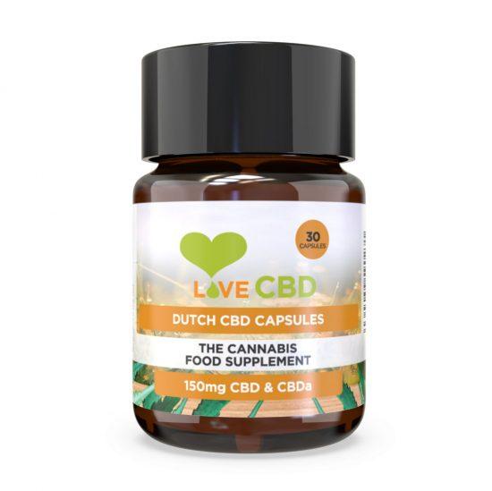 Organic CBD Capsules | 30x5mg | LoveCBD