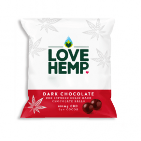 CBD Chocolate Bites | 250g | LoveHemp
