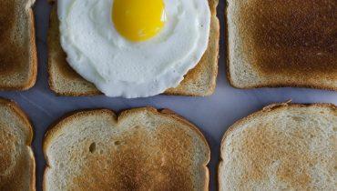 Eggs fry oil CBD plantandhemp