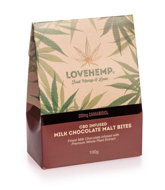 Milk Chocolate Bites   LoveHemp