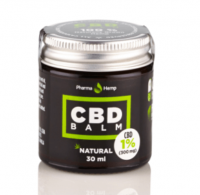 Natural CBD Balm | 1% | 30ml | PharmaHemp