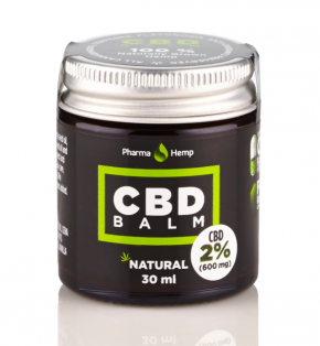 Natural CBD Balm | 2% | 30ml | PharmaHemp