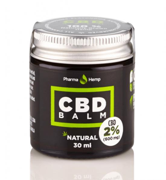 Natural CBD Balm | 2% | 30ml | PharmaHemp