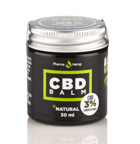 Natural CBD Balm |  3% | 30ml | PharmaHemp