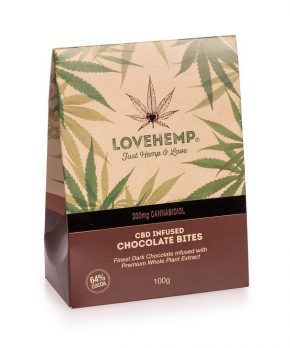 Dark Chocolate Bites | LoveHemp