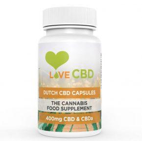 Organic Capsules | 80x5mg | LoveCBD