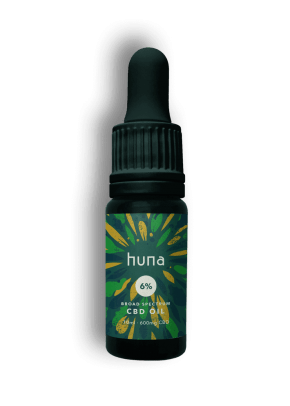Broad Spectrum CBD Oil | 6% | 10ml | Huna