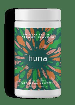 CBD Whey Protein Powder | Caramel | Huna