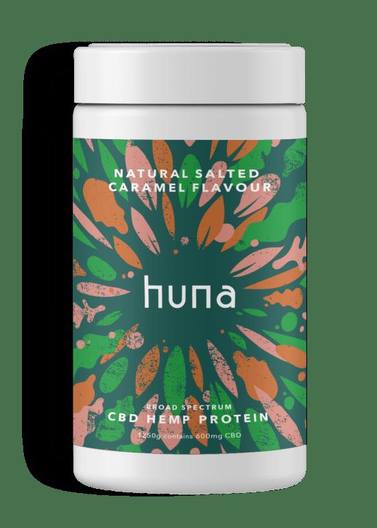 CBD Whey Protein Powder   Caramel   Huna